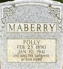 Polly Martin Mayberry (1890-1941) - Find A Grave Memorial