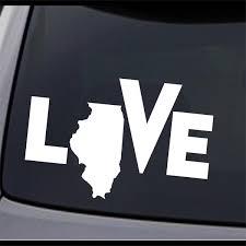 3 Pack Idaho State Map I Love Id Permanent Vinyl Decal Laptop Window Car Sticker
