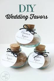 diy wedding favors for homemade nuptial