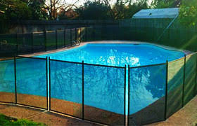 Guardian Removable Pool Fence Systems Ca Fresno Clovis Mesh Child Safe Swimming Pool Fencing