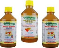 M SONS Herbal daily Heart Health and ACV for Heart and Blood ...