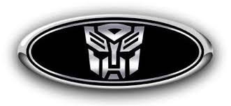 New All Fords Autobot Overlay Emblem Skin Decal Sticker Black Etsy