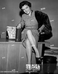 Dec. 15, 1957 - Idlewild Airport, N.Y. -- Singer Denise Lor Flew ...