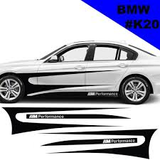 Sports Side Car Stripes Decal Car Graphics Car Stickers For Bmw Racing Stripes Car Stripes Bmw Car Stickers