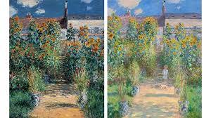 claude monet s the artist s garden at