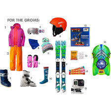 ski gear and gift ideas for the kiddos