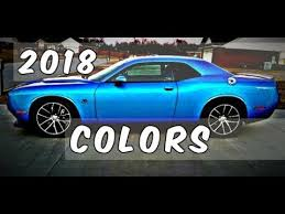 2018 dodge challenger b5 blue and other