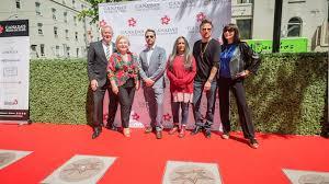 unveil their walk of fame stars