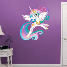 Princess Celestia My Little Pony Kids My Little Pony Bedroom Kids Wall Murals Unicorn Wall Mural