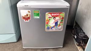 Tủ lạnh mini 55l sanyo mới 90% ,bảo hành 1 năm tại nhà - 1.250 ...