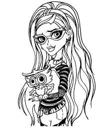 monster high pictures to print