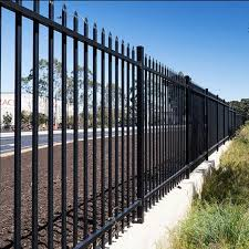 Black Color 2m Zinc Steel Picket Fence Panel Modern Ornamental Wrought Iron Fence And Gate Buy Zinc Steel Fence Steel Tube Fence Steel Bar Fence Product On Alibaba Com