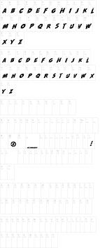 run font com