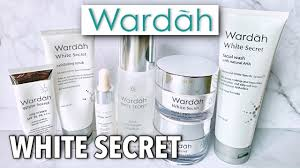 wardah white secret skincare review