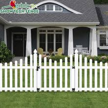 Pvc White Picket Fence Pvc White Picket Fence Suppliers And Manufacturers At Alibaba Com