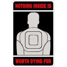 Nothing Inside Is Worth Dying For Sticker At Sticker Shoppe