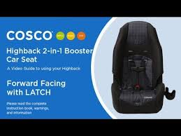 highback 2 in 1 booster car seat