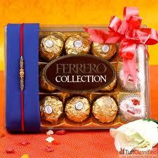 send rakhi to a for lovable