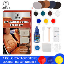 leather repair kit glue paste car seat