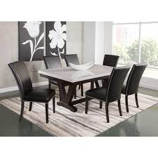 Cayman Dining Room Dining Table 4 Chairs Caymandr Conn S