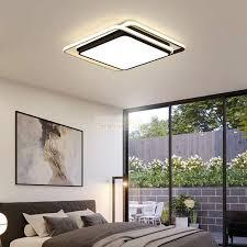 modern design black white ceiling light