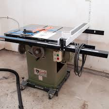 Grizzly 10 Heavy Duty Tablesaw With Shop Fox Fence And 2 Zero Gap Inserts Ebth
