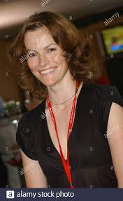Actress Selina Giles pictured at the Ladies Day event at The Welsh Open  Golf Championship at The Celtic Manor Resort, Newport, today (Saturday  5/6/04 Stock Photo - Alamy