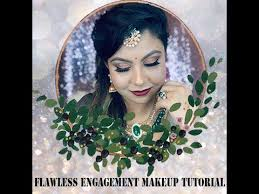 indian wedding makeup and hair style