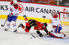 Byron Froese scores first goal since Feb. 2016, Canadiens beat Flames 3-2 -  Calgary   Globalnews.ca