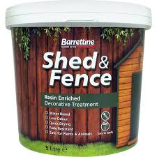 Shed Fence Treatment 5l Urban Grey