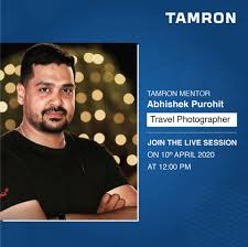 Tamron India - Abhishek Purohit, a Software Engineer by... | Facebook