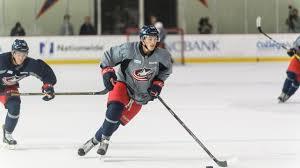 meyer back to having fun playing hockey