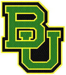 Victory Tailgate Baylor University Bears Die Cut Vinyl Decal Logo 1 Wall Decals