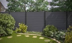 Wpc Fence Beautiful How To Install Wpc Fence Panel On Concrete Wall Buy Fence Panels Of Compound Wood Garden Dividers Backyard Garden Beds Garden Design