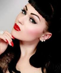 los angeles vine pinup makeup artist