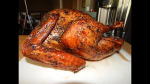 cooking a turkey on your outdoor grill