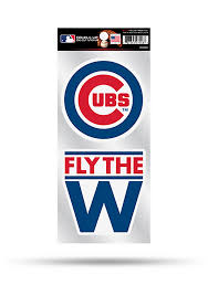 Chicago Cubs 2 Pack Die Cut Auto Decal Blue 7141919