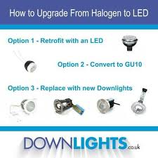 how to upgrade from halogen to led