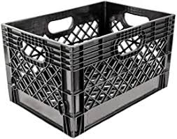 Amazon Com Plastic Milk Crates