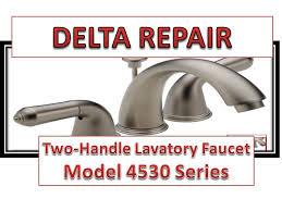 delta faucet model 4530 series