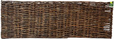 Amazon Com Master Garden Products Mgp Willow Woven Hurdle Fence Panel 6 W X 2 H Garden Outdoor