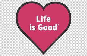 Life Is Good Company Bumper Sticker T Shirt Decal T Shirt Love Text Heart Png Klipartz