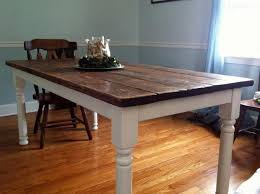 build a vine style dining room table