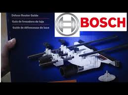Bosch Deluxe Router Guide Ra1054 Unboxing Youtube