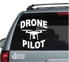 Drone Car Decals Stickers Decal Junky