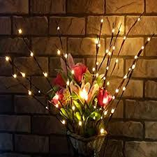 4 Pack Branch Lights - 30 inches 20 LED Battery Powered Decorative Lights  Willow Twig Branch Tree Lights for Home Christmas Decoration Warm White (4  Pack): Amazon.com.au: Lighting