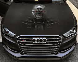 Vinyl Car Hood Full Color Graphics Decal Terminator Rise Of The Machines Sticker Ebay