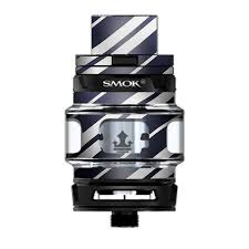 Skin Decal Vinyl Wrap For Smok Tfv12 Prince Tank Vape Kit Skins Stickers Cover Black White Stripes Itsaskin Com