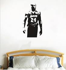 Free Shipping Lakers Kobe Bryant Vinyl Wall Decals Home Decor Living Room Diy Art Mural Wallpaper Removable Wall Stickers Wall Sticker Removable Wall Stickersvinyl Wall Decals Aliexpress