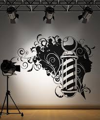 Vinyl Wall Decal Sticker Barbershop Design Os Aa594 Stickerbrand